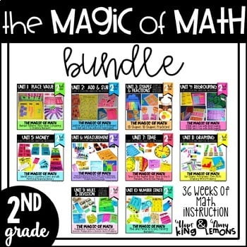 """The magic of math bundle"" by Amy Lemons"