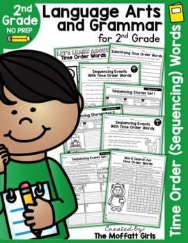 """Language arts and grammar for 2nd grade"" by The Moffatt Girls"