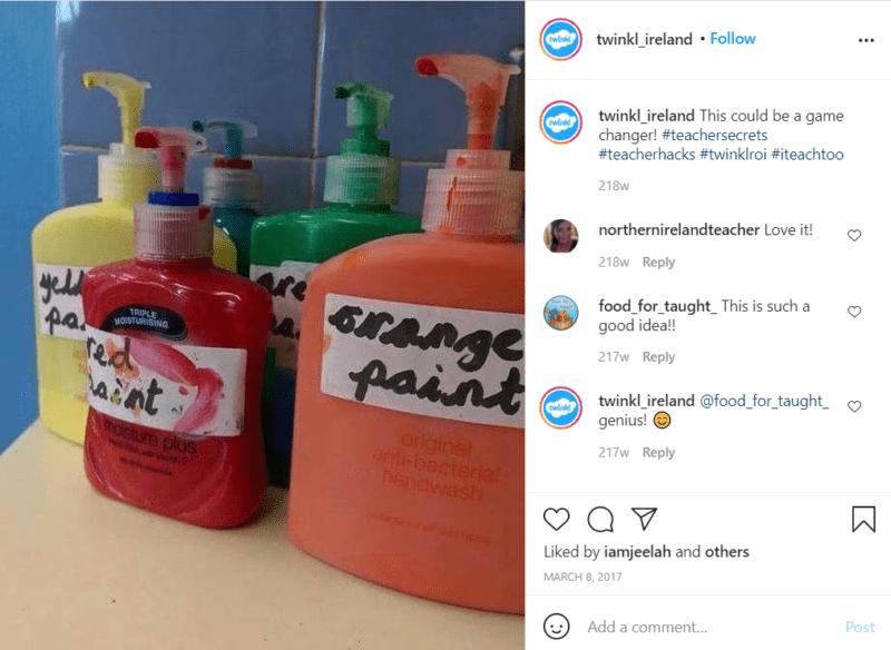 Still of teacher hacks for classroom paint