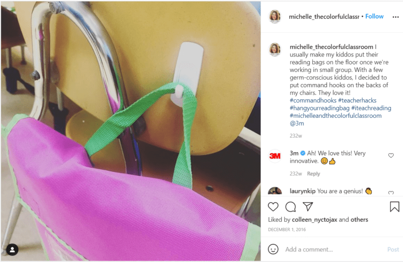 Still of bag storage teacher hacks
