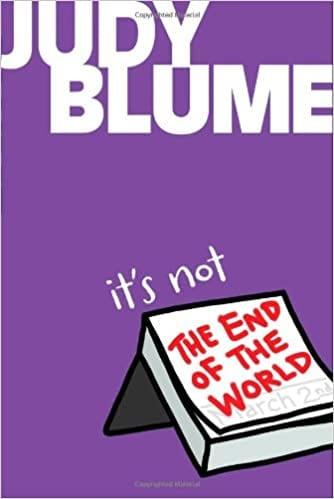 Book cover of Its Not the End of the World by Judy Blume
