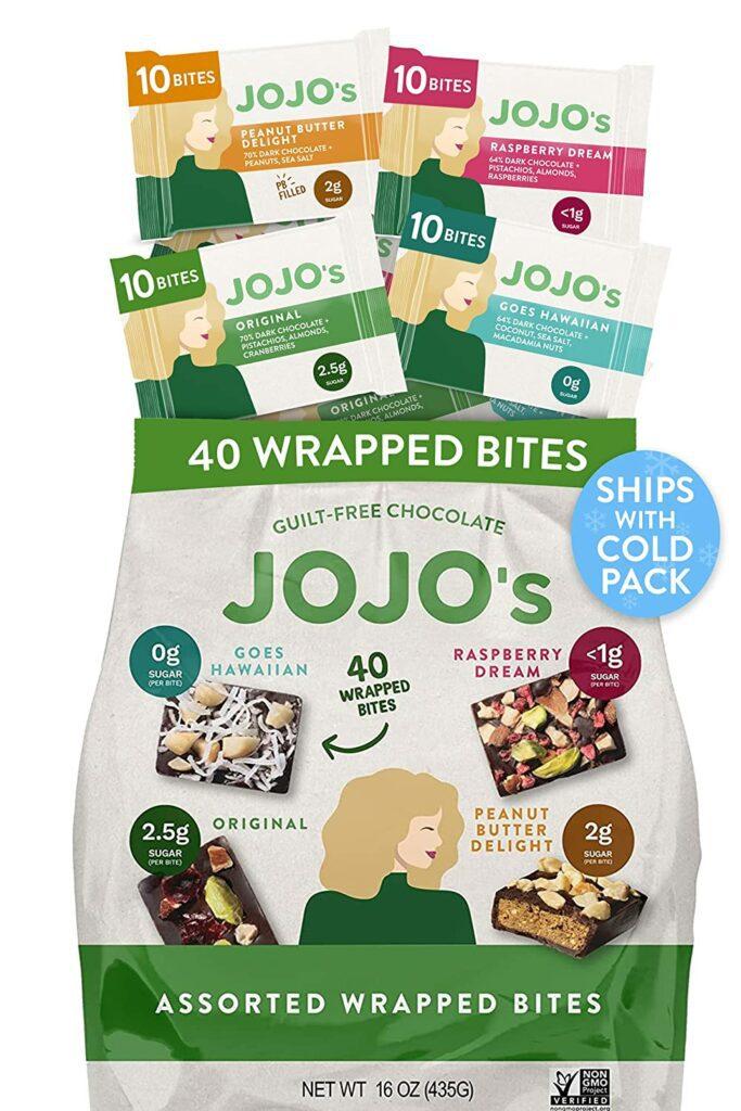 JOJO'nun Bitter Çikolatalı Isırıkları, ruh halinizi iyileştiren yiyeceklere bir örnek olarak