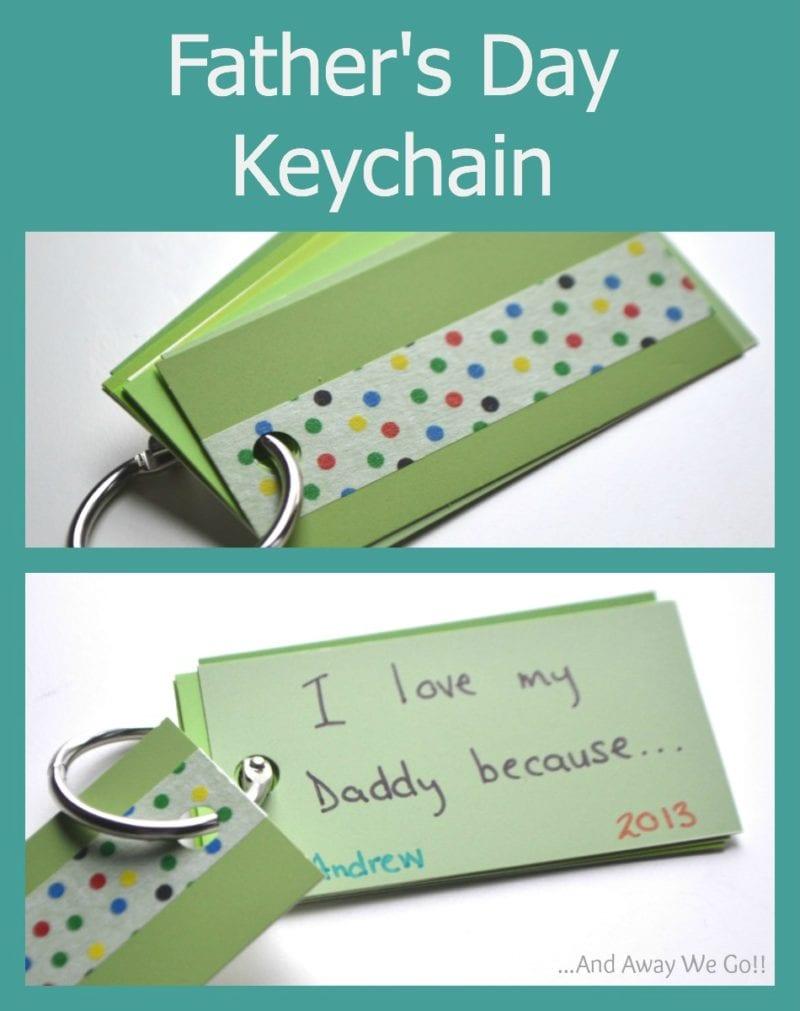 Father's day keychain ideas.