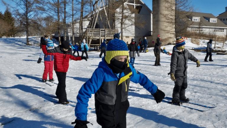 Kids Outside Learning