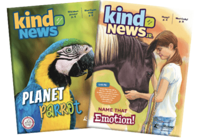 Kind News and Kind News Jr magazine