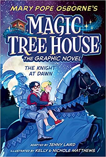 Book cover for Magic Tree House Graphic Novel Book 2