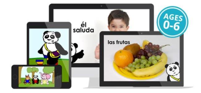 Little Pim language learning app screenshots
