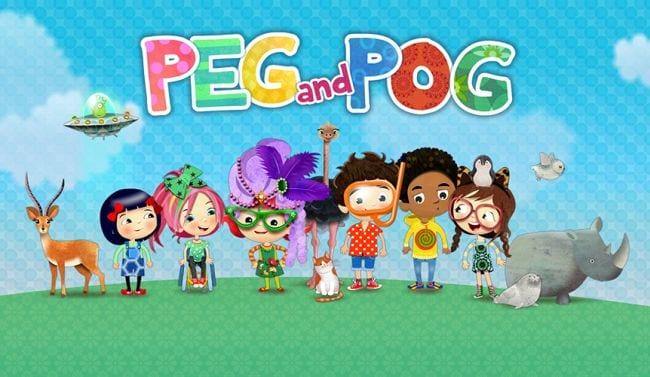 Peg and Pog language learning app screenshot