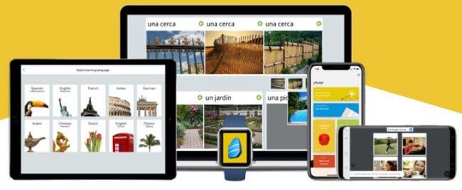 RosettaStone language learning apps