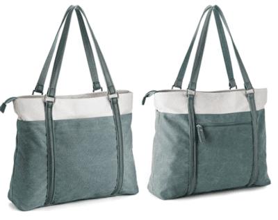 Canvas Work teacher tote bags