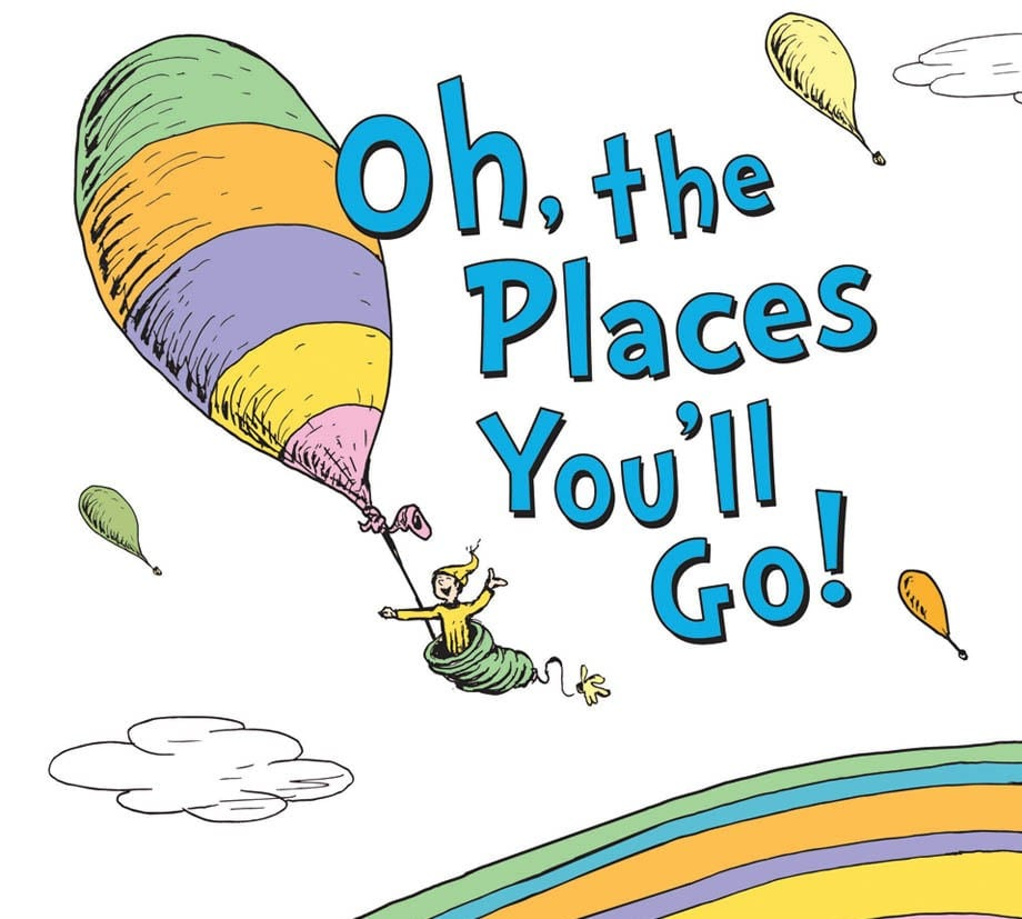 photograph relating to Oh the Places You'll Go Balloon Printable Template identify Dr. Seuss Routines towards Move With Each individual of His Most loved Clics