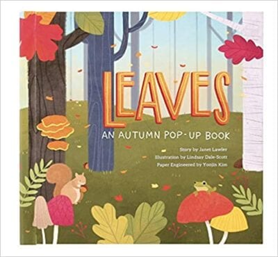 Book cover for Leaves: An Autumn Pop-Up Book