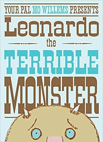 Book cover for Leonardo the Terrible Monster as an example of kids books about monsters