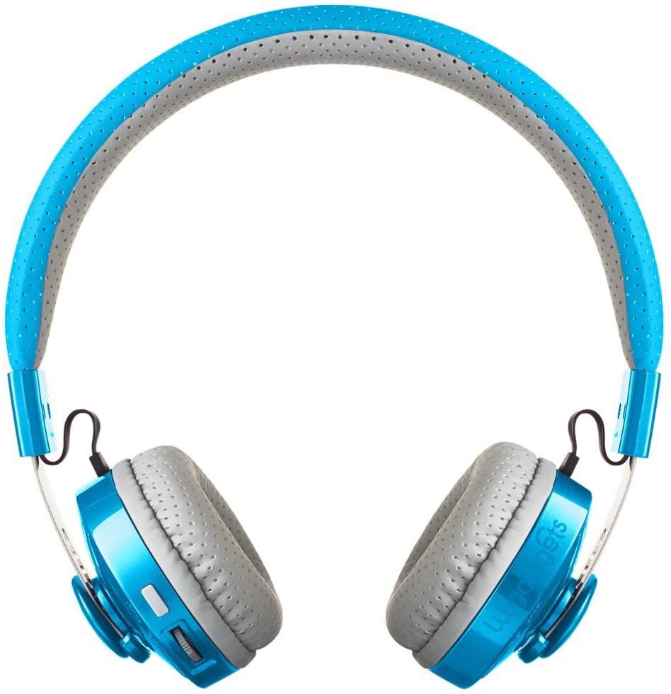 Lilgadgets wireless headphones in blue