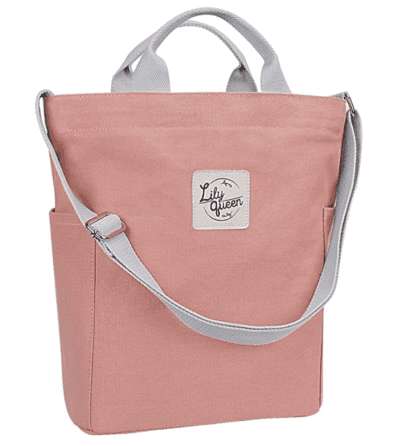 Lily queen tote bag in pink
