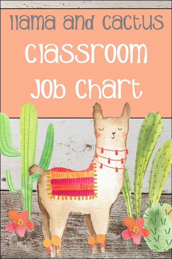 Llama job chart