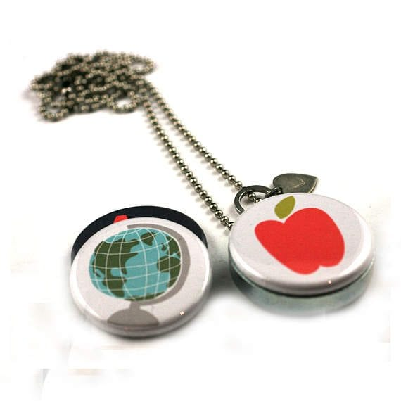 teacher jewelry - locket