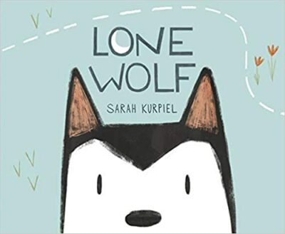 Book cover for Lone Wolf as an example of children's books about disabilities