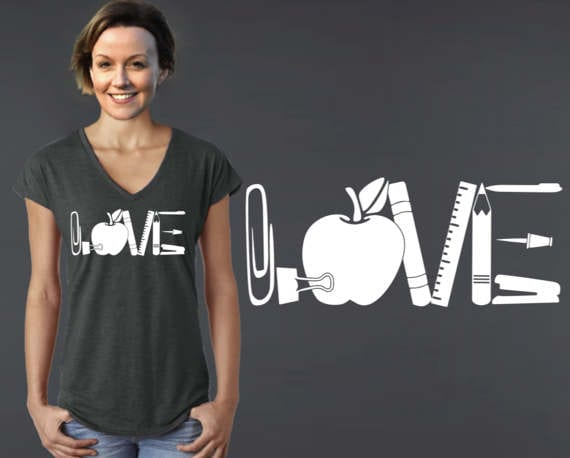 teacher tshirts on etsy