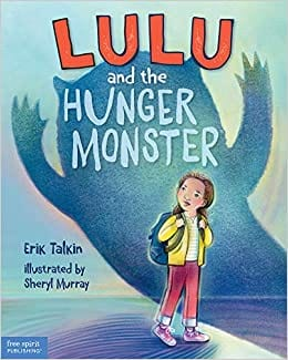 Book cover for Lulu and the Hunger as an example of social justice books for kids
