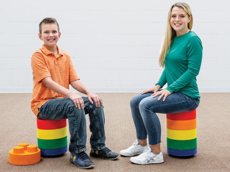 StackED Foam Stools