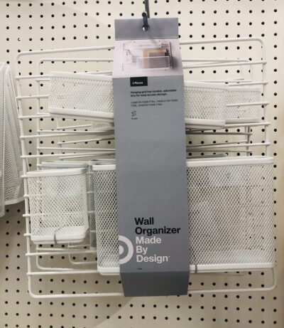 Mesh wall organizer for supplies for Target