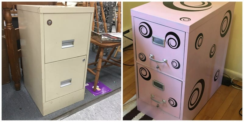 File Cabinet Makeover - DIY Classroom Decoration