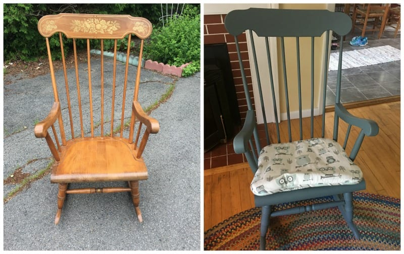 Rocking Chair Redo - DIY Classroom Decoration