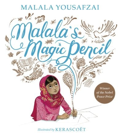 10 Must-Read Children's Books to Fold into Your High School English Lessons | malala's magic pencil