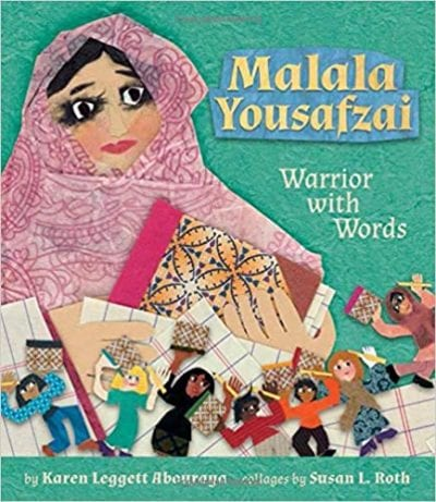 Malala Yousafzai Warrior With Words book cover