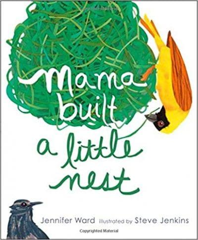 Mama Built a Little Nest Preschool Book