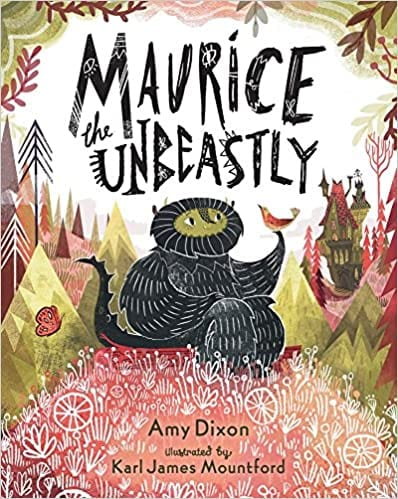 Book cover for Maurice the Unbeastly example of nutrition books for kids