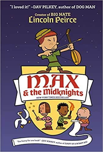 Book cover for Max and the MidKnights Book 1