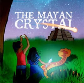 Mayan Crystal podcast for kids logo