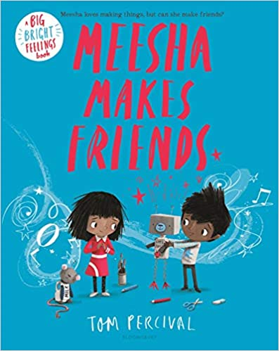 Book cover for Meesha Makes Friends as an example of children's books about friendship