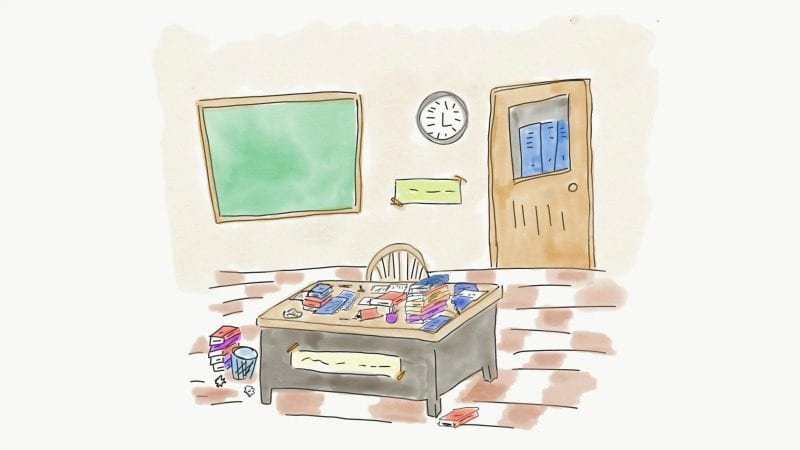 Could a Messy Desk Make You a Better Teacher?