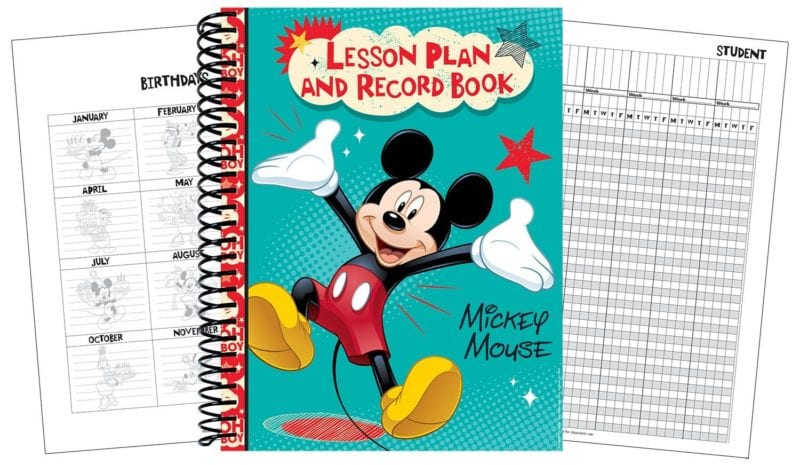 Eureka Mickey 40 Week Lesson Plan and Record Book, Measures