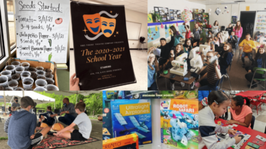 Middle school electives collage