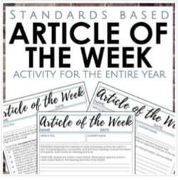 """""""article of the week"""" by Read it. Write it. Learn it."""