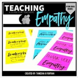 """""""teaching empathy"""" by Tanesha B Forman"""