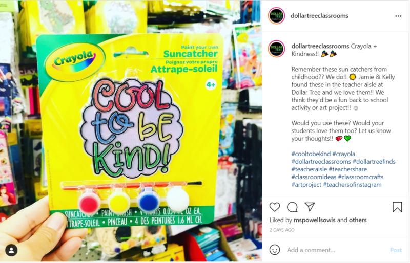 Crayola sun catchers for classroom back-to-school activity