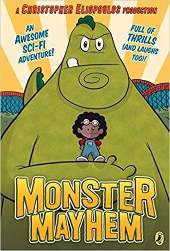 Book cover for Monster Mayhem