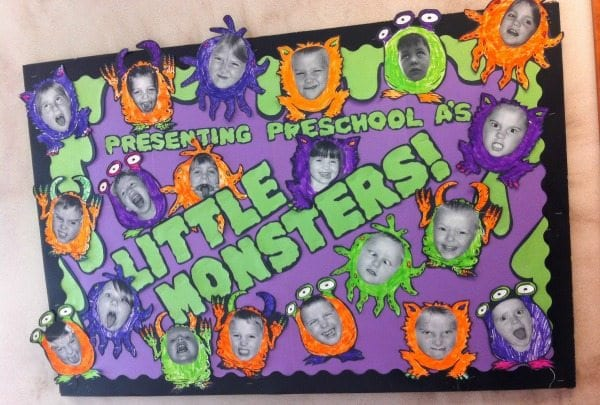 Little Monsters Bulletin Board