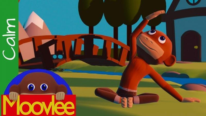Moovlee the Yoga Monkey