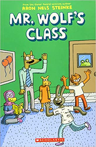 Book cover for Mr. Wolf's Class Book 1