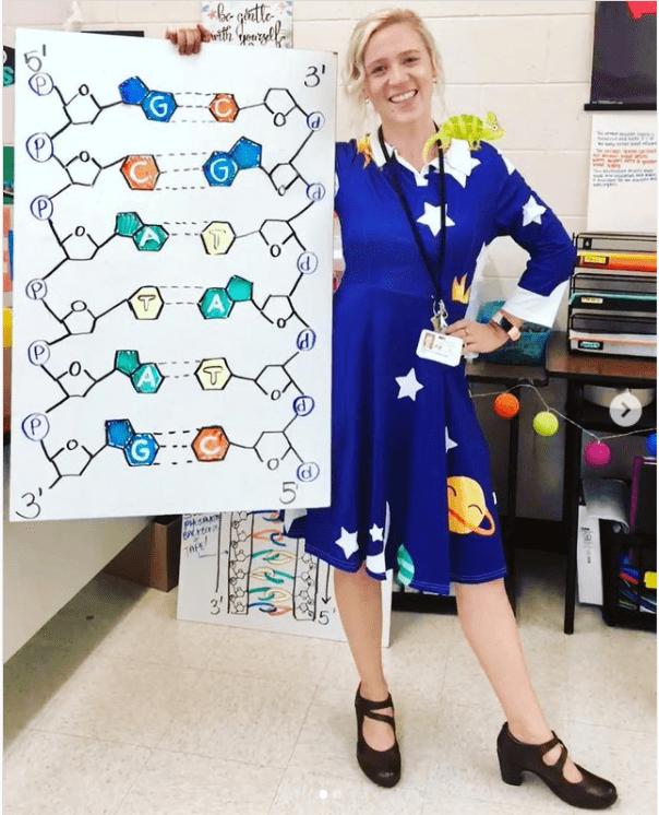 Sihirli Okul Otobüsü Öğretmen kostümü
