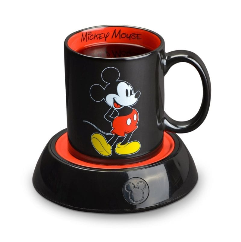 Disney Mickey Mouse Mug Warmer, Black/Red