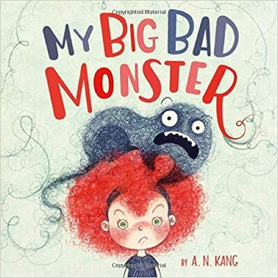 Book cover for My Big Bad Monster as an example of Kids Books About Monsters