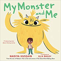 Book cover for My Monster and Me as an example of kids books about monsters