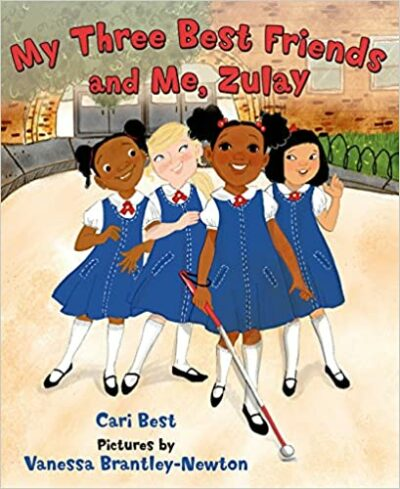 Book cover for My Three Best Friends and Me, Zulay